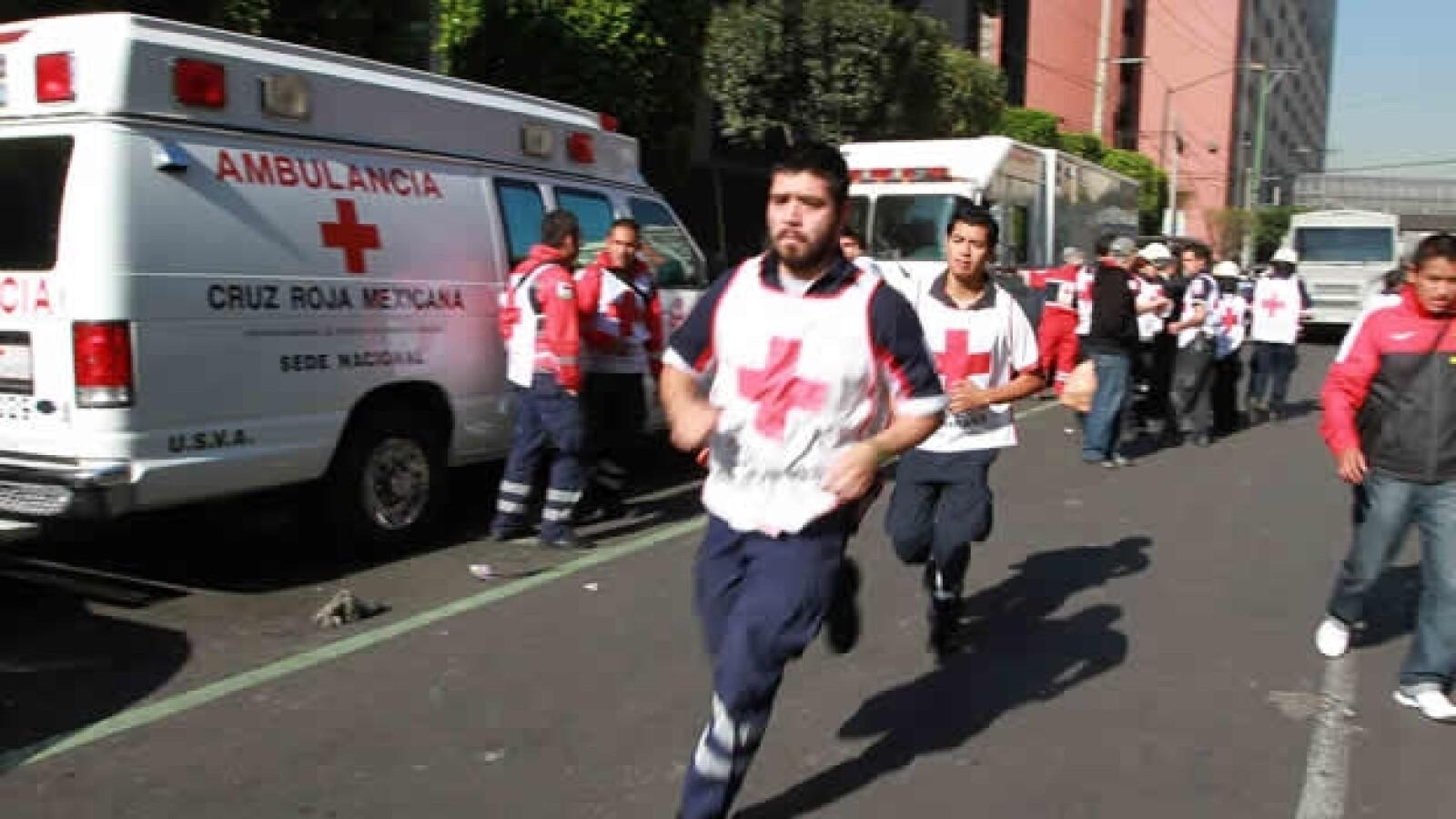 Cruz Roja explosion Pemex
