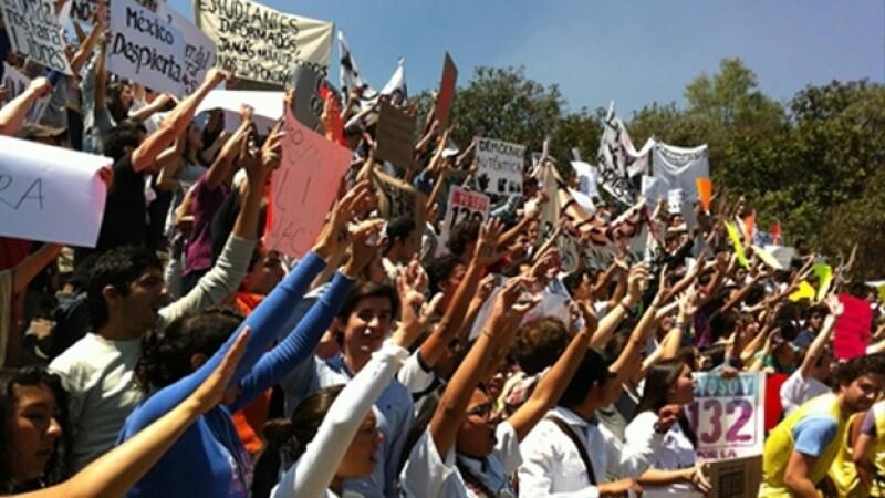 Televisa protestas #YoSoy132 6