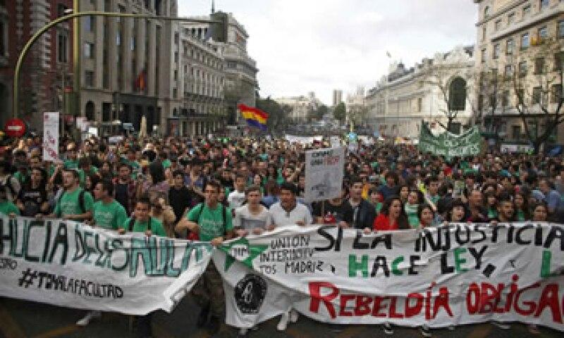 Las movilizaciones en España han transcurrido sin incidentes. (Foto: Reuters)
