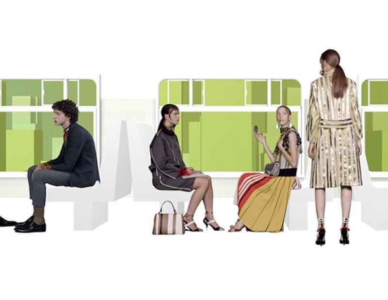 La firma italiana lanza su colección Primavera Verano 2016, con un aire futurista y sintético, que sin duda no podrás dejar de ver.