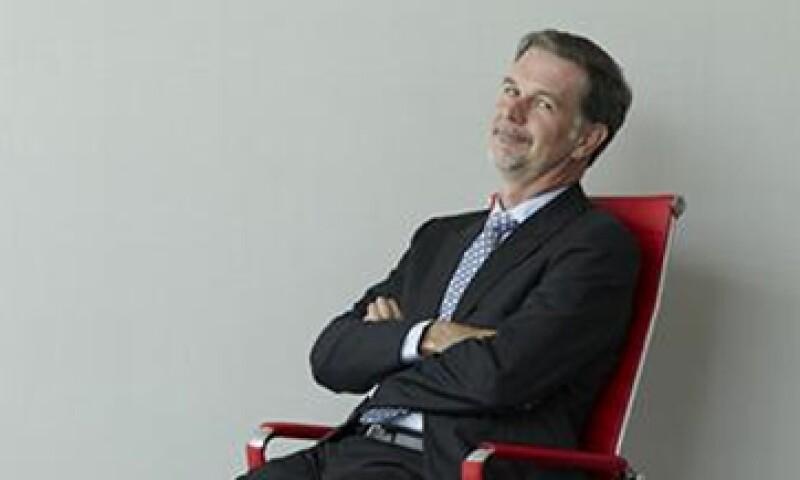 Reed Hastings, director de Netflix, dice que puede distribuir contenidos de TV Azteca y de Televisa. (Foto: Marco Sotomayor)