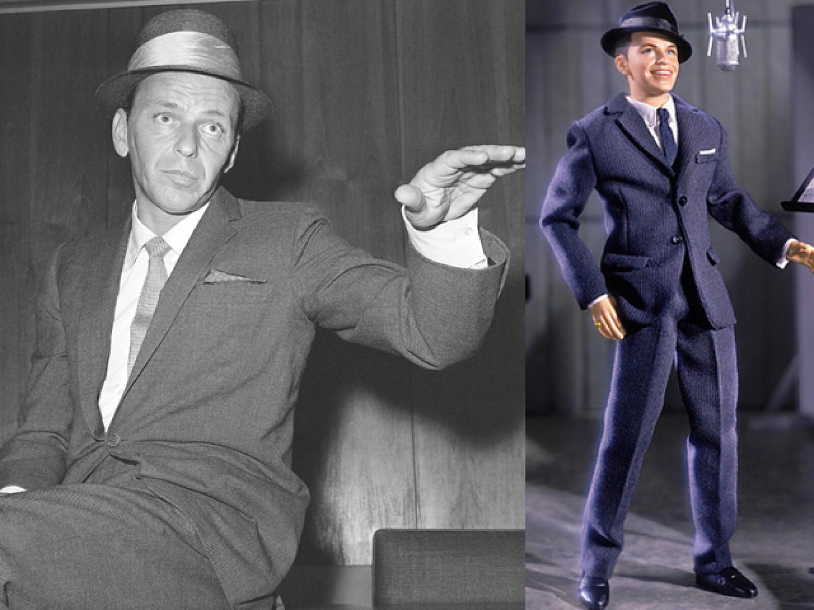 Frank Sinatra no podía quedarse atrás.