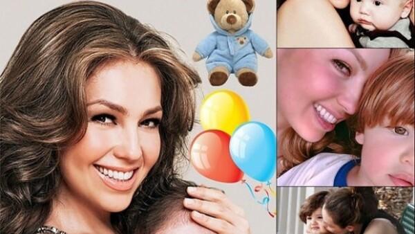 El segundo hijo de la artista llega hoy a los tres años y su famosa mamá no pudo dejar pasar desapercibido el hecho en sus redes sociales.