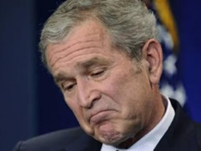 El gobierno de George W. Bush terminará con un fuerte deterioro en las finanzas presupuestales. (Foto: Reuters)