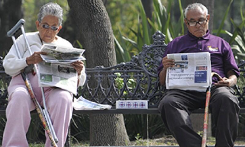 De acuerdo con el Consejo Nacional de Población, la esperanza de vida hacia 2020 será de 80 años. (Foto: Cuartoscuro)
