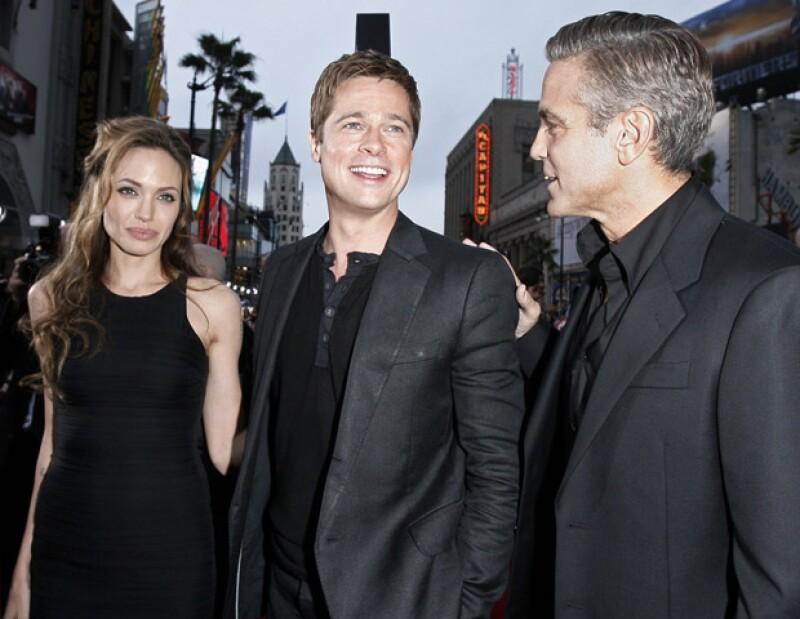 La actriz estadounidense pidió al famoso actor George Clooney abstenerse de hacer bromas durante su boda con Brad Pitt.