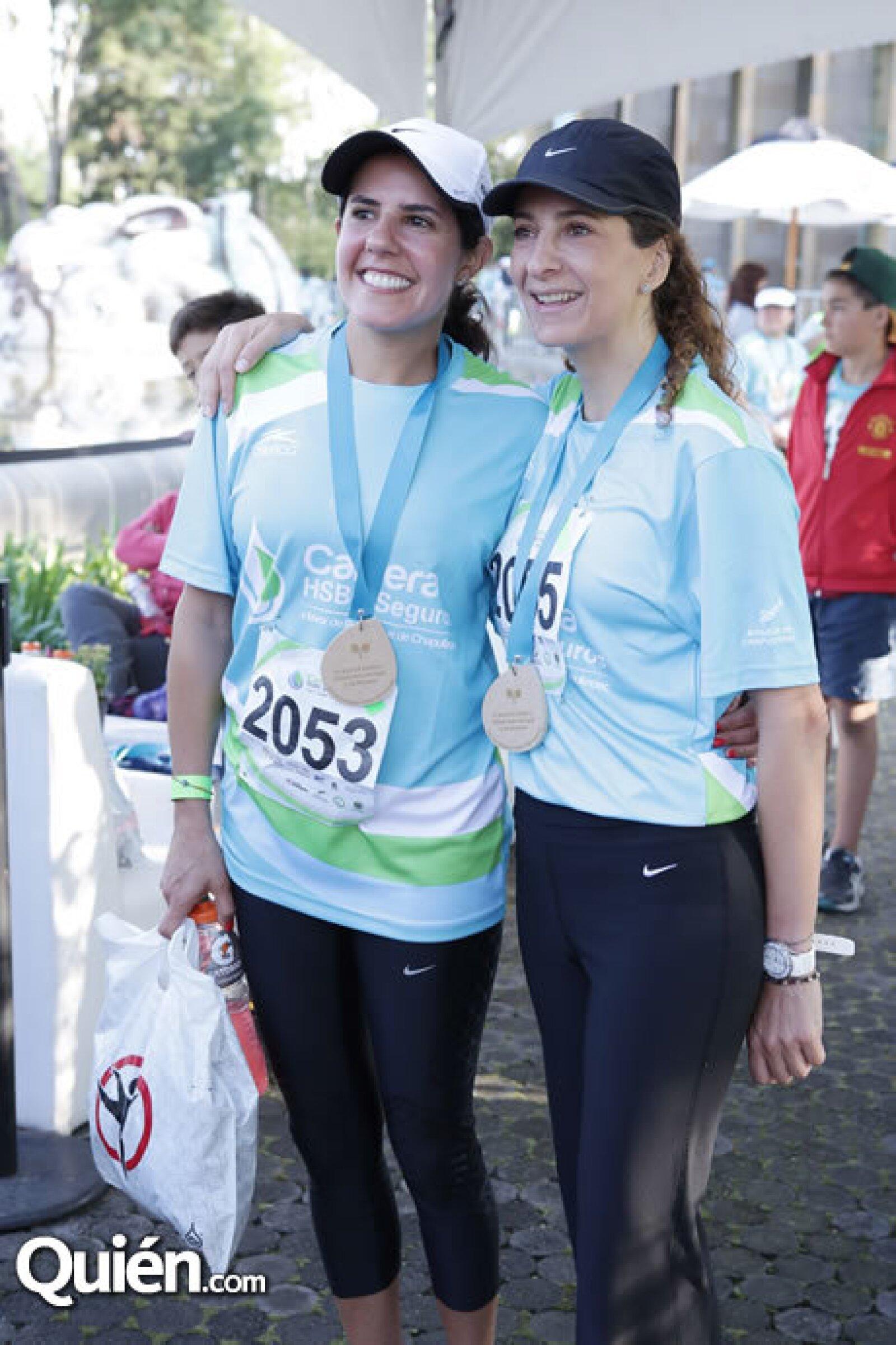 Lilia Haua y Silvia Ángel