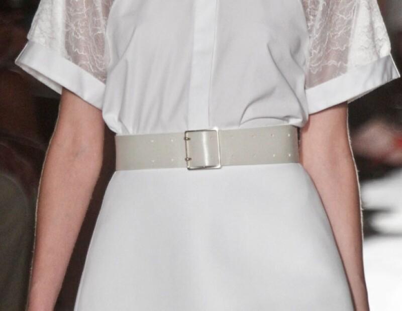 Aunque suele diseñar sólo vestidos, en esta ocasión la colección incluyó piezas separadas.