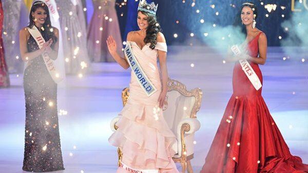 Rolene Strauss, una estudiante de medicina de 22 años, se alzó este domingo con la corona de Miss Mundo en Londres.