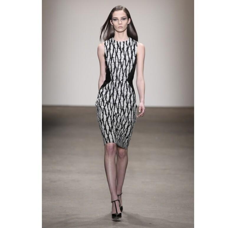 El diseñador se presentó exitosamente en la Semana de la Moda de Nueva York hace un par de días.
