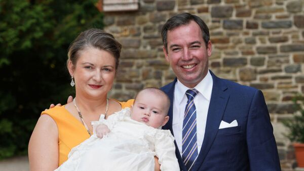 Baptism Of Prince Charles Of Luxembourg At L'Abbaye St Maurice De Clervaux