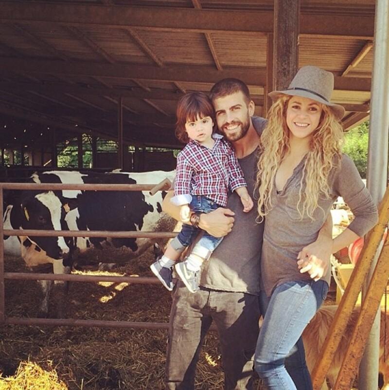 Shakira confirmó su embarazo a una publicación mexicana.