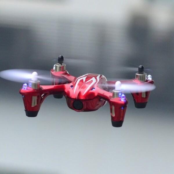 Participa en carreras de drones con el Hubsan X4