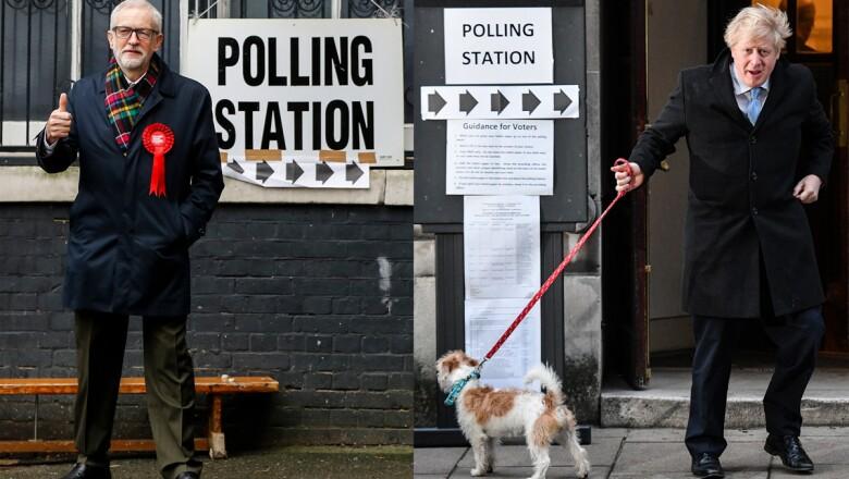 Elecciones Generales GB - Jeremy Corbyn&Boris Johnson