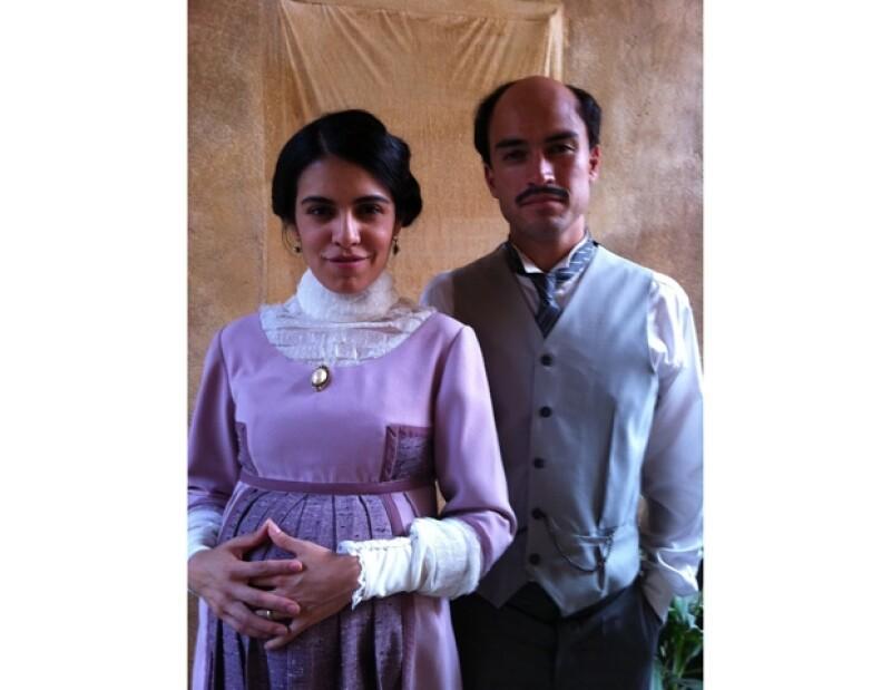 La joven actriz y productora también es la esposa de Poncho Herrera en la serie Revolución.