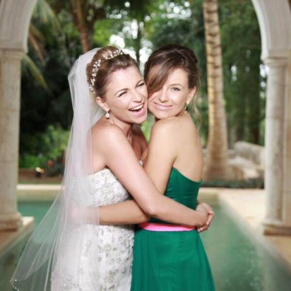 Ludwika y su hermana Dominika.
