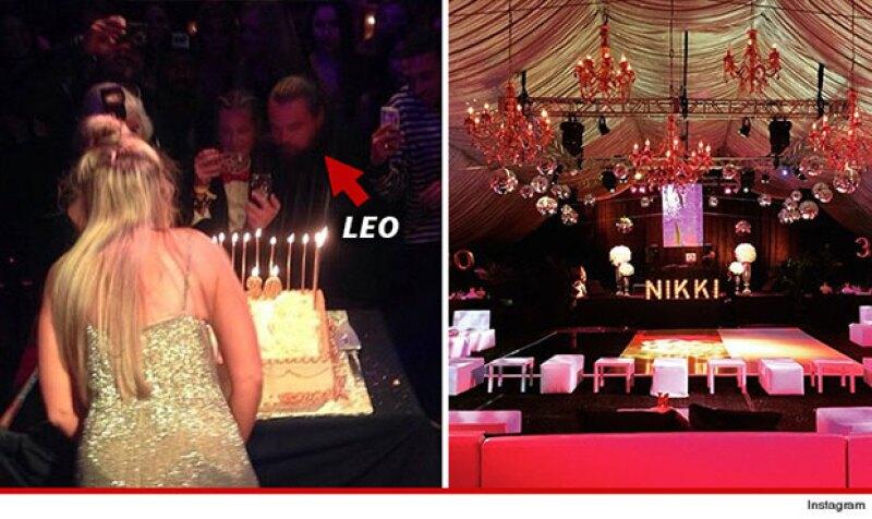 El actor estuvo presente en la fiesta. Sin embargo, no fue captado al lado de Rihanna.