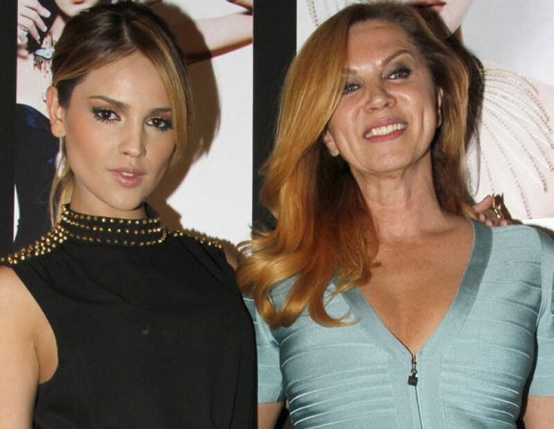 La ex modelo Glenda Reyna dijo en una entrevista que la educación de la joven actriz fue tal y como instruyó a las modelos que formó en su agencia.