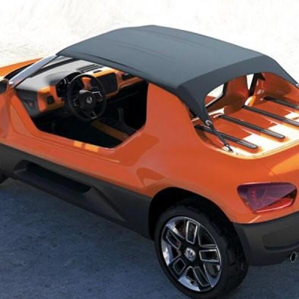 Volkswagen no confirmó su mecánica, aunque quizá derive del Up! tradicional; un motor de 1.0 litros, con un rango de potencia que comprende los 60 hasta los 75 caballos de fuerza.