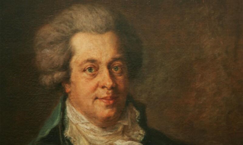 Un cuadro representando a Mozart, músico del siglo XVIII. (Foto: Getty Images/ Archivo)