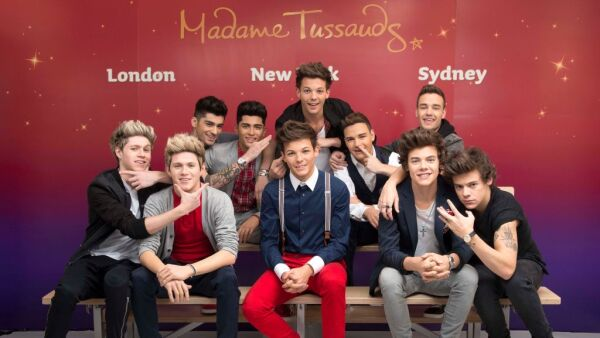 One Direction Waxworks Unveiled At Madame Tussauds