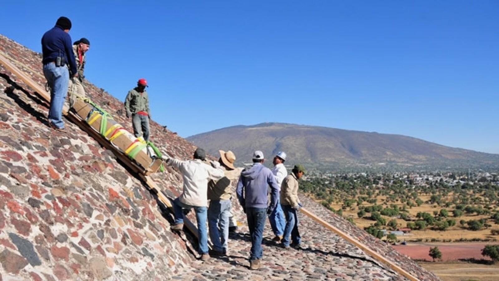 teotihuacan piramide del sol