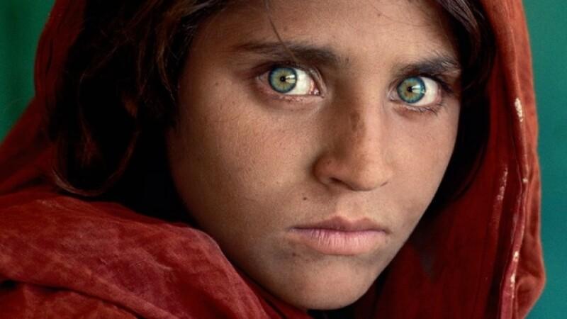 niña afghana portada national geographic