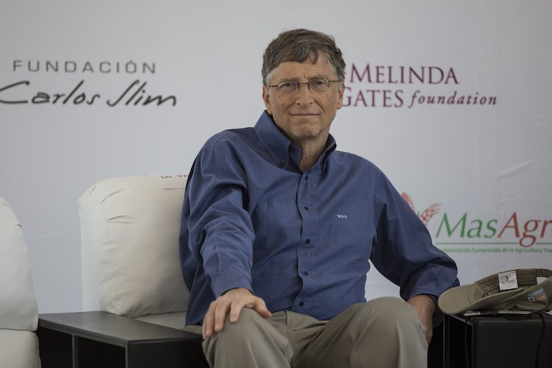 Bill Gates and Carlos Slim Announce Collaboration on Agriculture Development in Mexico City