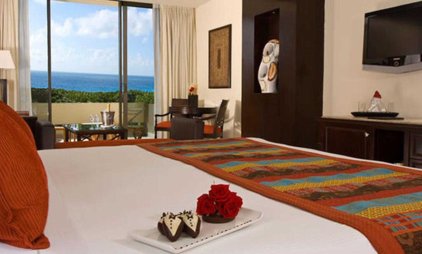 Este espacio está considerado como un concepto de 'hotel boutique' ubicado al interior de una torre privada dentro del hotel Gran Meliá Cancún.