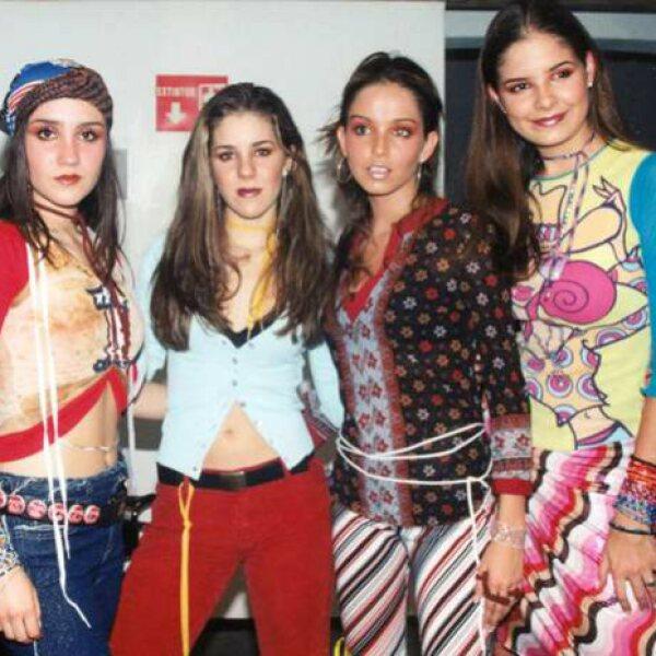 Las jóvenes marcaron tendencia en la moda de finales de los 90 y principios del 2000.