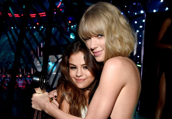 Selena and Taylor Swift