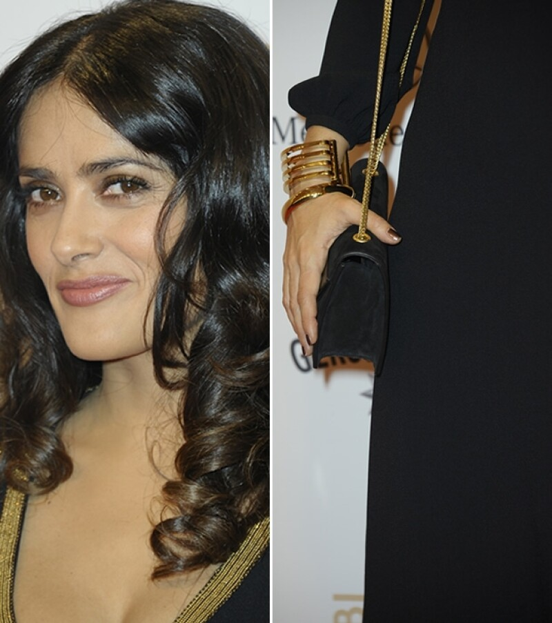 La mexicana se lució en Berlín con un vestido que acentuó su curvilínea silueta.