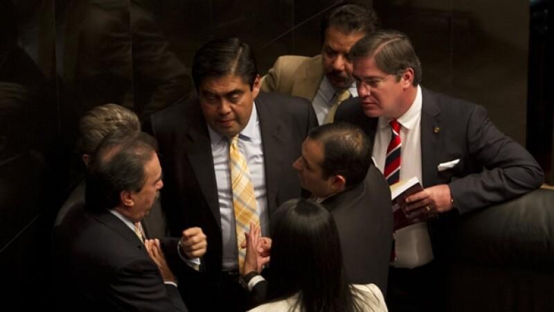 Senadores del PRD