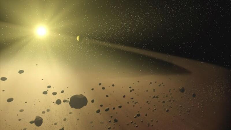 asteroides alrededor del Sol