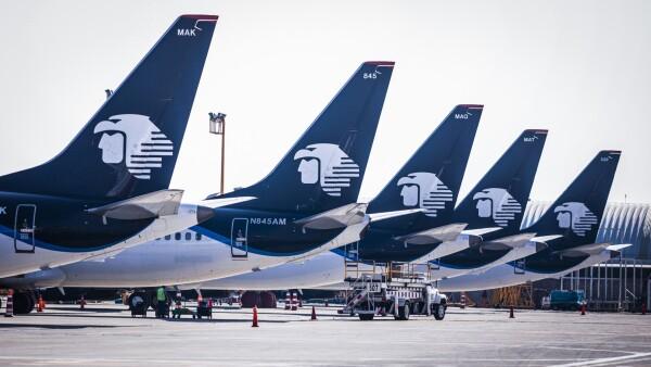 Aviones Aeromexico
