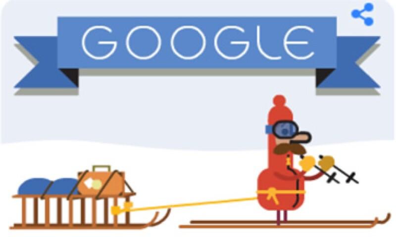 El buscador más popular de Internet permite a los usuarios compartir el doodle en sus redes sociales. (Foto: tomada de google.com )