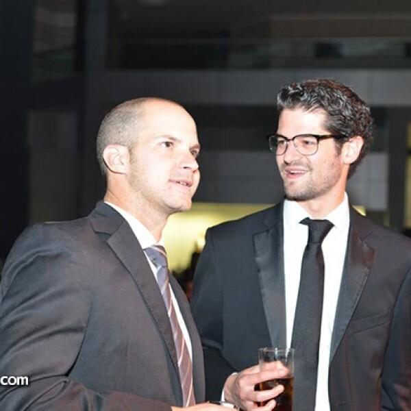 Andrés Bárbara y Pedro Echenique.