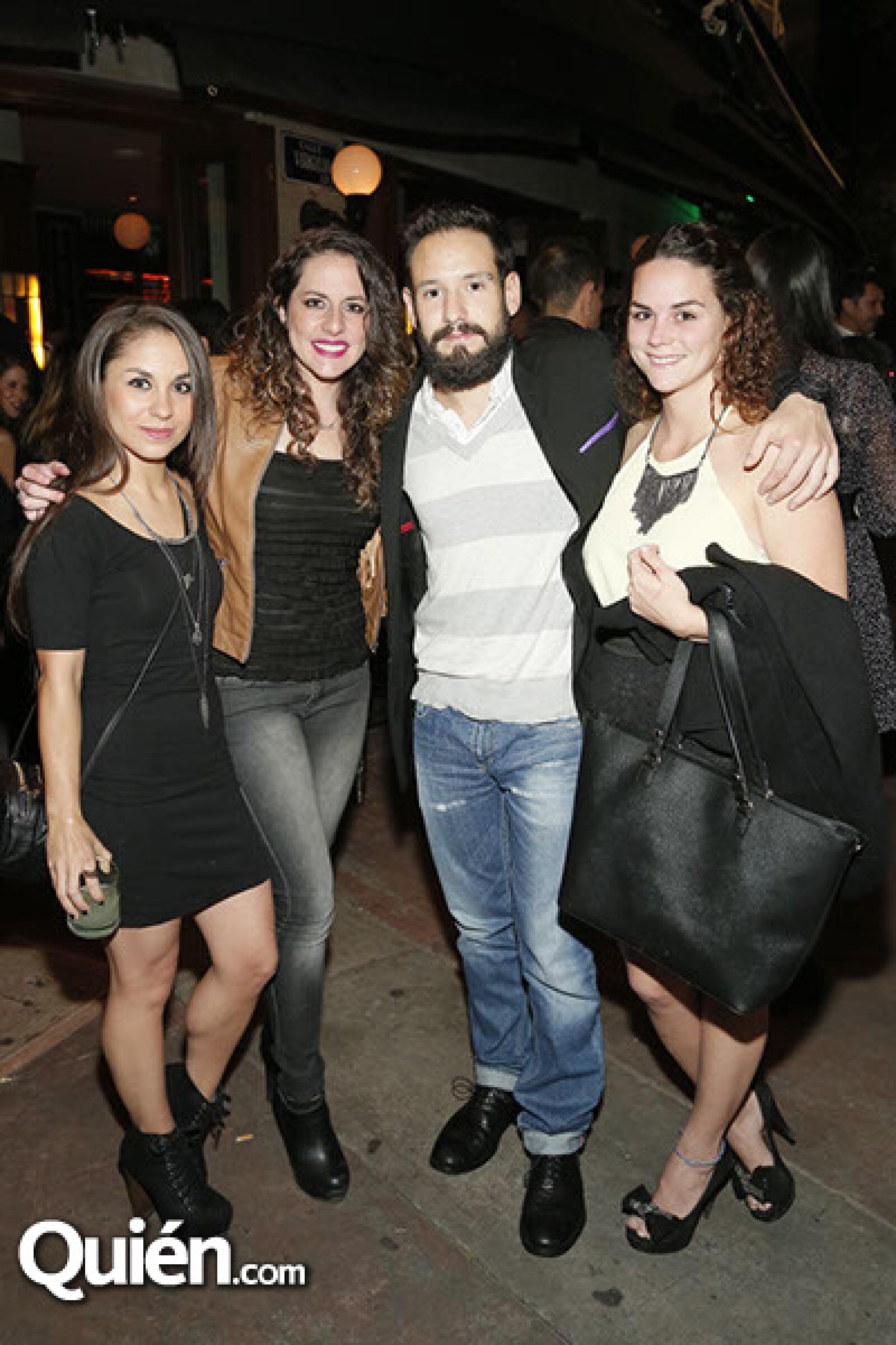 Marisol Lazo, Paola Carranza, Ceff Baca y María Silva