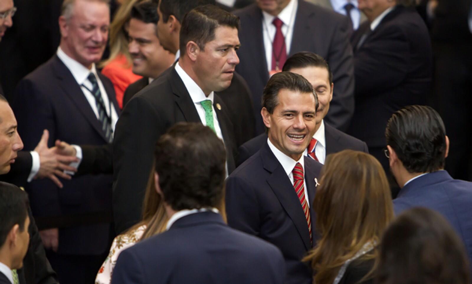 Enrique Peña Nieto aseguró que existen avances económicos en México, pese al entorno económico adverso.
