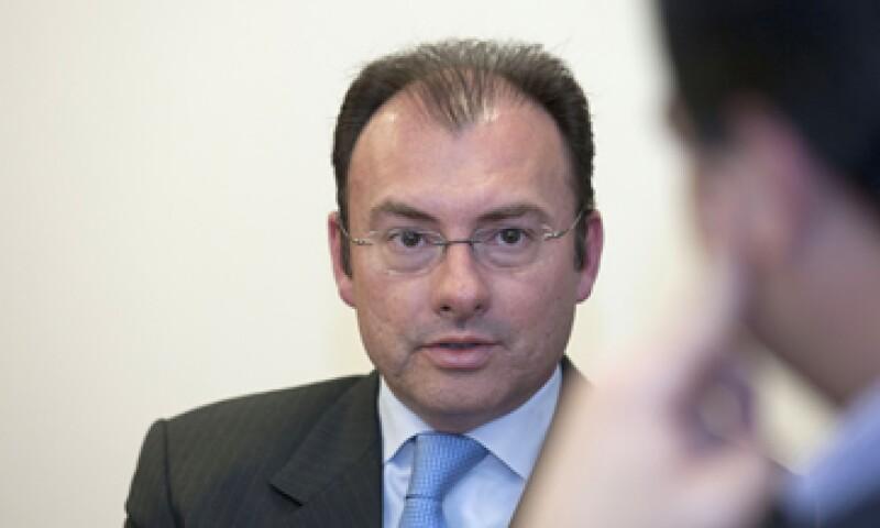 Luis Videgaray Caso, coordinador del equipo de transición de Peña Nieto, dijo que se trabaja con el actual Gobierno sobre el paquete económico para el 2013.  (Foto: Getty Images)