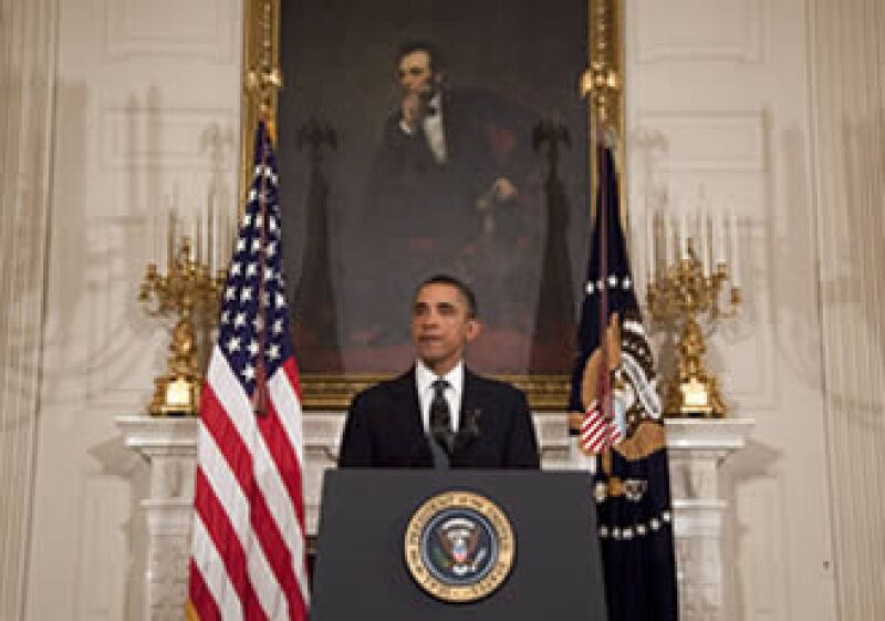 El presidente Barack Obama prometió reducir el gasto público para acortar la gigantesca deuda soberana.  (Foto: AP)
