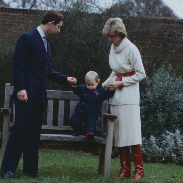British royals at Kensington Palace, London, Britain - Dec 1983