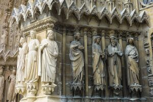 Reims Cathedral, Champagne-Ardenne, France