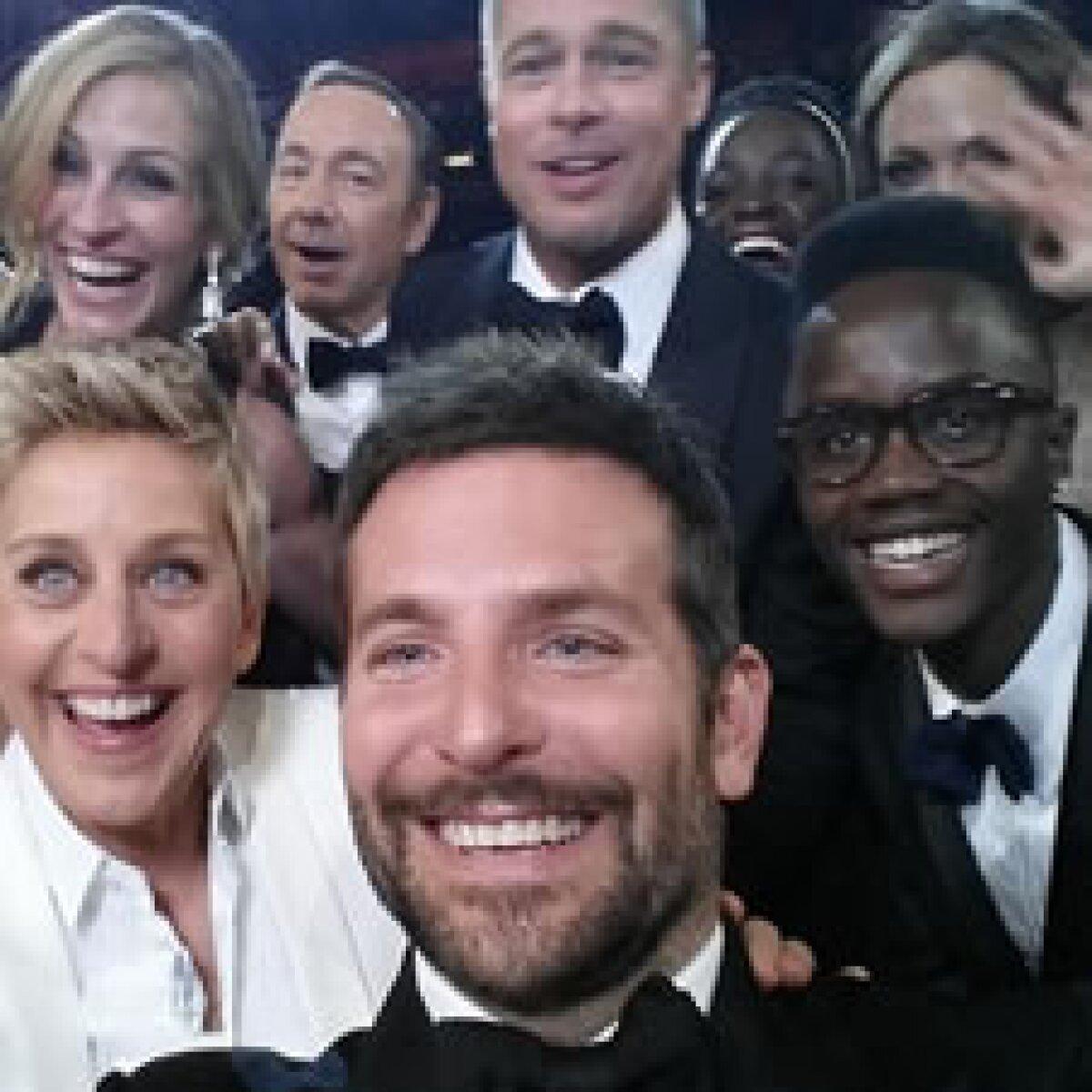 """La """"magia monetaria"""" detrás de la `selfie´ en los Oscar"""