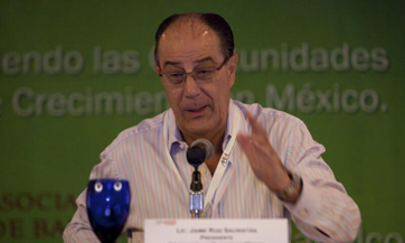 Jaime Ruiz Sacristán ha encabezado la Asociación de Bancos de México. (Foto: Cuartoscuro )