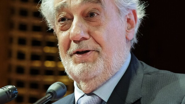 Placido Domingo At 10th International Congress Of Excellence In Madrid