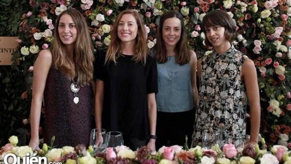 Gaby Setien,Paola Noriega,Alejandra Manzano y Andrea Bardasano
