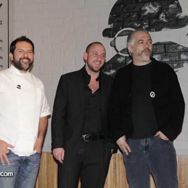Enrique Olvera,Jack Sourasky,Héctor Esrawe