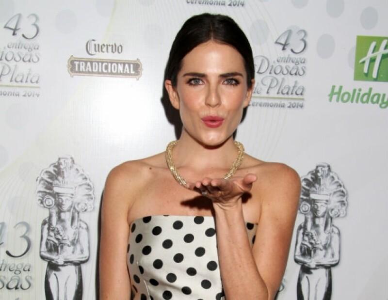 """Karla participó en cintas como """"Nosotros Los Nobles"""" y """"No se aceptan devoluciones""""."""