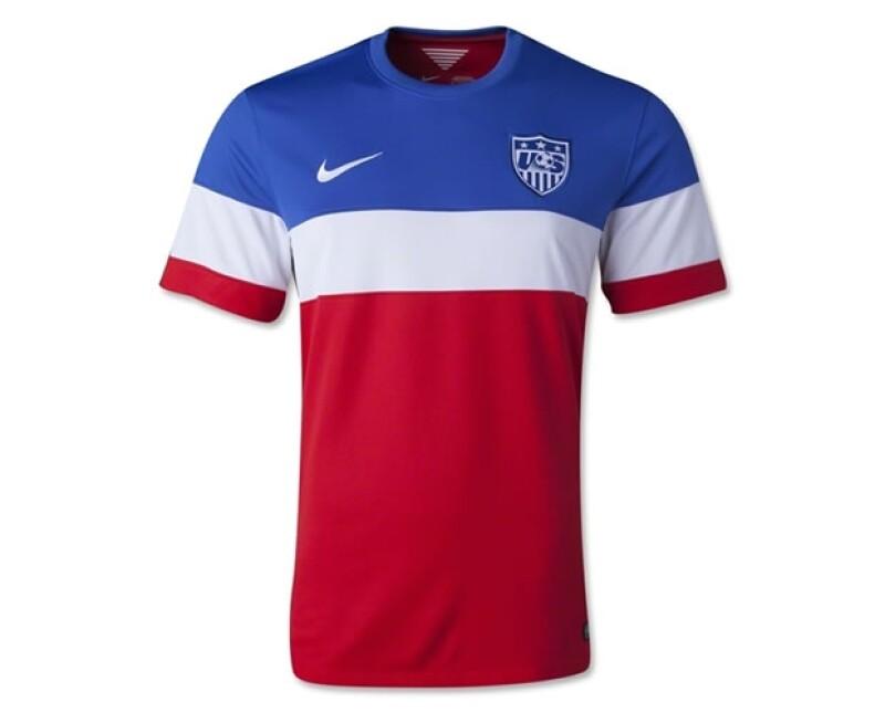 Estados Unidos sorprendió con el diseño de sus camisetas.